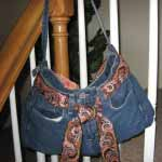 How to Make a Bootie Bag (Jeans Purse)