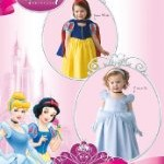 Toddler to Misses Halloween Costumes – Cinderella & Snow White Sewing Patterns