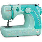 Janome Hello Kitty 3/4 Size Fully Functional Sewing Machine