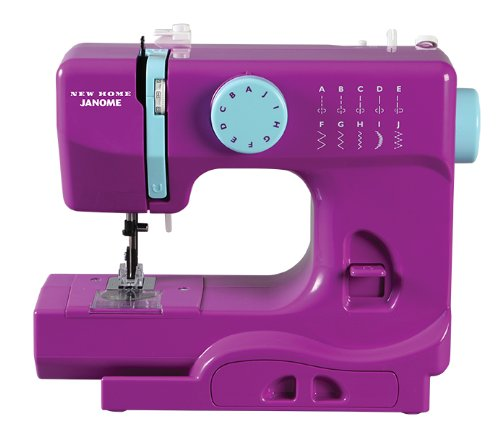 Janome Purple Portable Sewing Machine