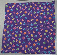 quilt block back