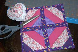 quilt block front