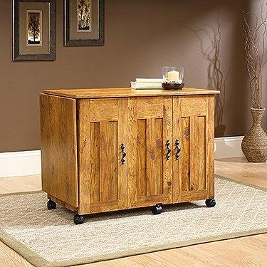 sauder sewing machine cabinets